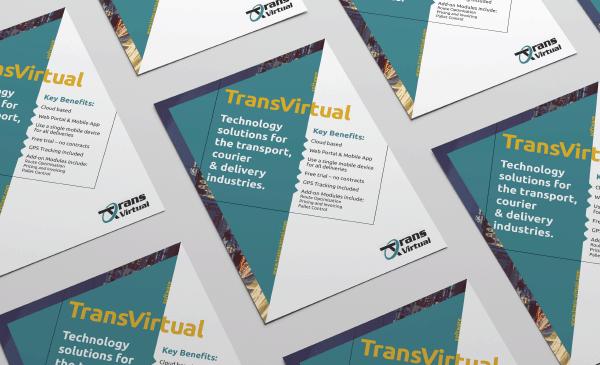 Création de Flyer pour Transvirtual, une entreprise Américaine d'informatique.