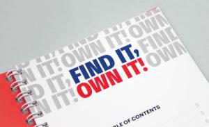 Design d'un livret/brochure pour une entreprise française
