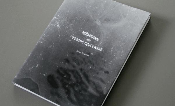 Mise en page du livre mémoire du temps qui passe