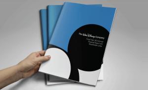 Conception d'un rapport annuel pour Walt Disney