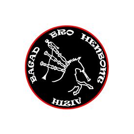 Logo de Hiziv, le bagad Breton