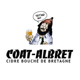 Logo d'un cidrerie de Bretagne, en couleur
