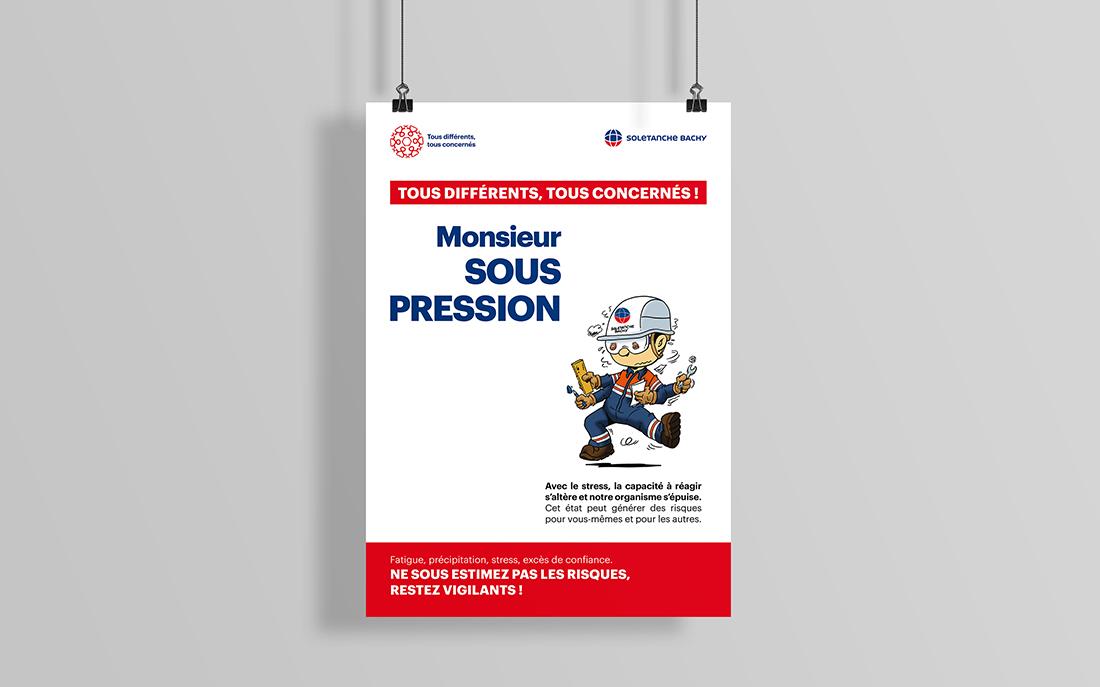 Création d'une affiche pour la campagne de communication