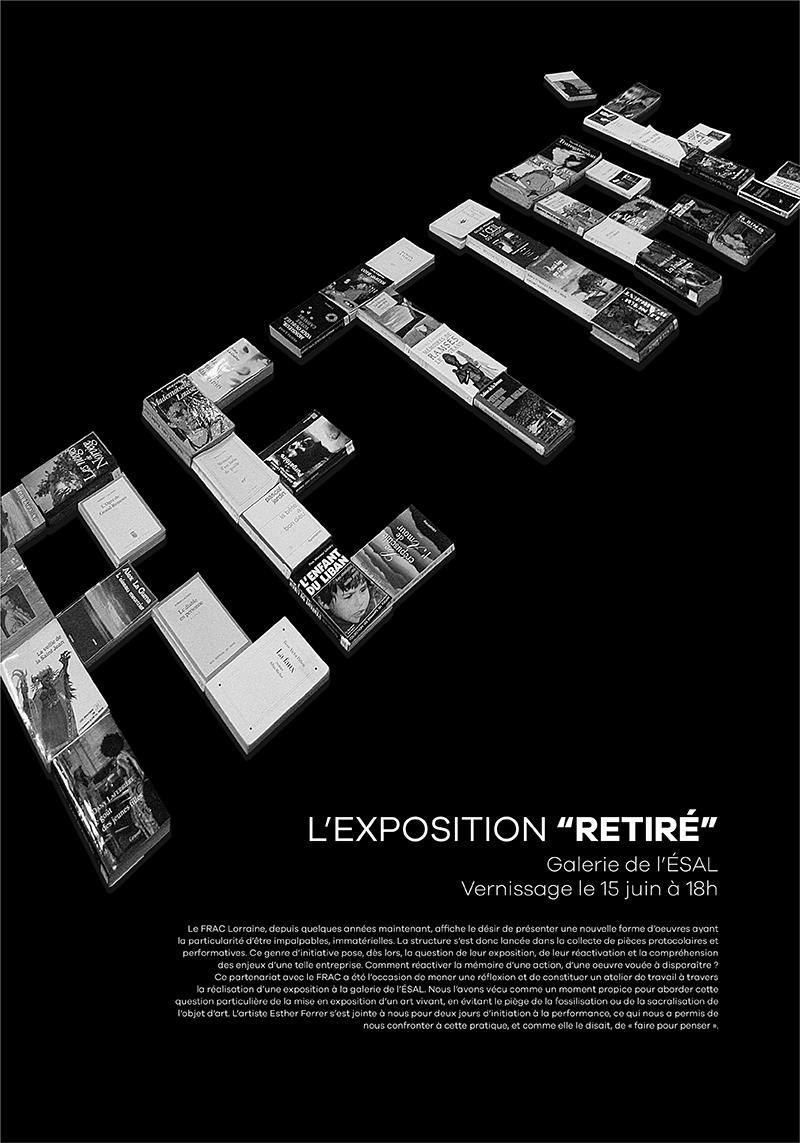 Affiche d'une exposition