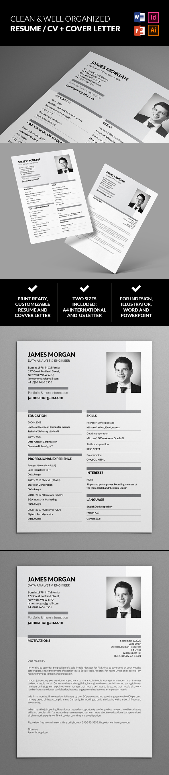 Free Resume And Cover Letter Templates from altaydagistan.com
