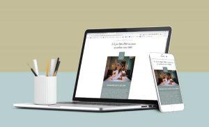 Création d'une newsletter (emailing) pour un hôtel