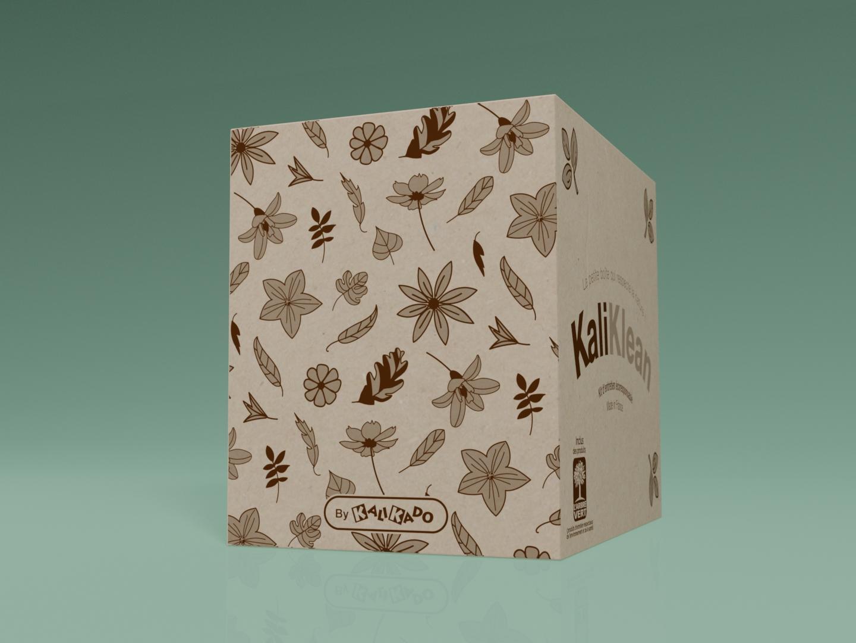 Création / design de packaging - côté