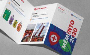 création d'un dépliant - brochure 7 plis
