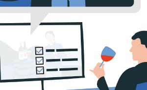 Tastywines-online web design et création graphique.