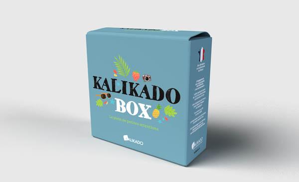 Graphisme d'une emballage - kalikado box.