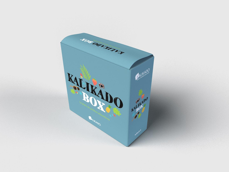 Présentation du graphisme d'emballage (packaging)