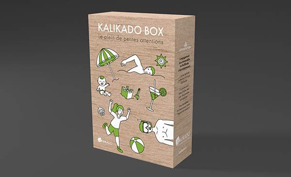 design graphique et illustration pour une emballage